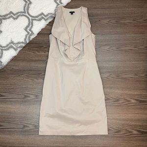 Ann Taylor Ruffle Dress Size 2